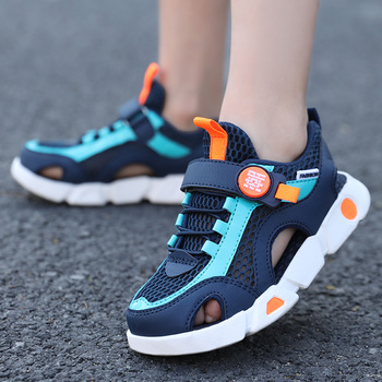 Kids Shoes Summer Boys Sneakers Causal Breathable Cutout Children Running Shoes Toddler Sports Shoes Mesh Basket Tenis Infantil