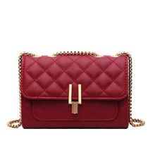 цена на Women's shoulder bag Summer latest new fashion quilted lady handbags designer mini woman chain crossbody bag