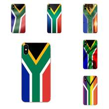 South Africa National Flag Soft Print Phone For Xiaomi Redmi Note 2 3 3S 4 4A 4X 5 5A 6 6A Pro Plus(China)