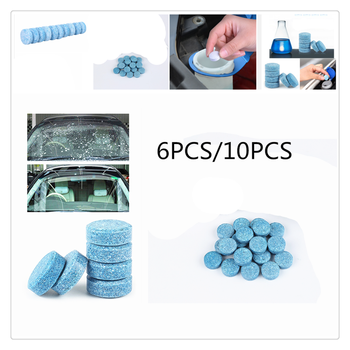 Car windshield strong cleaning concentrate effervescent tablets home for Ford focus 1998 2004 fiesta 2008 1995 mondeo transit KA image