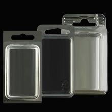 Портативный автономный Висячие отверстия блистер ПВХ прозрачный упаковочный мешок приманки установки мелких деталей хранения повесить на стену коробки