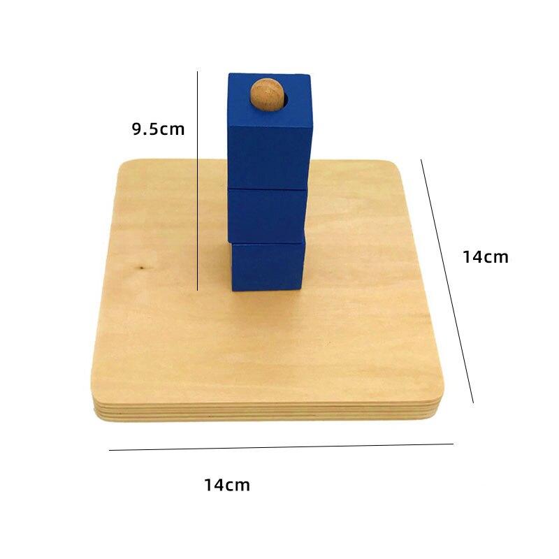 Kids Wooden Montessori Toys Memory Match Stick Educational Color Cognitive Geometric Shape Puzzles Toys For Children 22