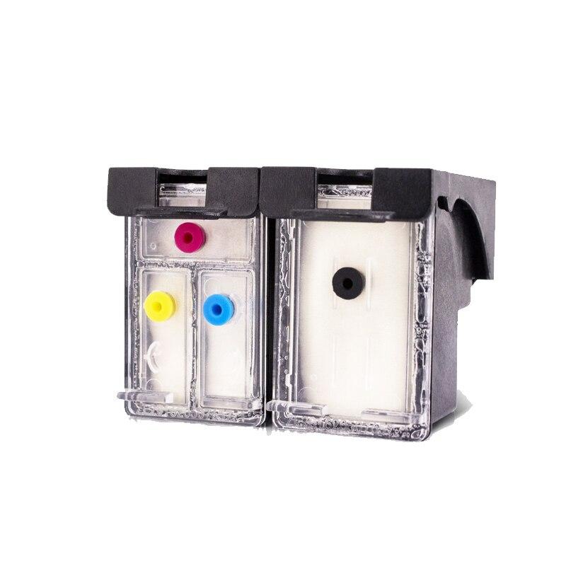 Einkshop Refill Cartridge 123xl Replacement For HP 123 Xl Deskjet 1110 2130 2132 2133 2134 3630 3632 3638 3830 4520 Printer