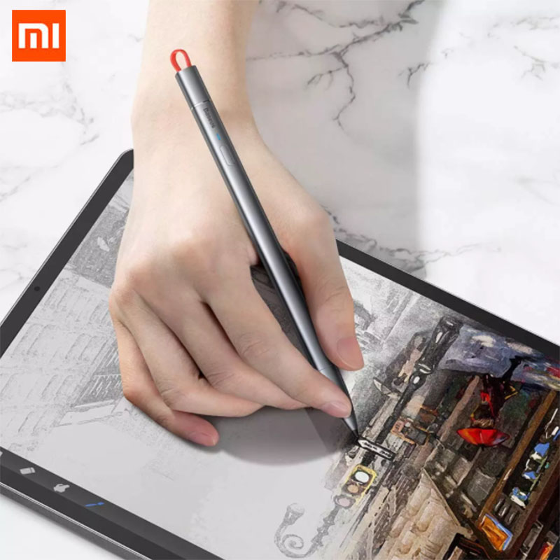 Muntifuntiona Xiaomi Baseus Capacitive Touch Stylus 18 Hours Battery Life Meeting Minutes Drawing Tabulation For Ipad image