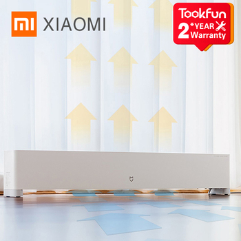 XIAOMI MIJIA Baseboard Electric Heater 2200W IPX4 Waterproof Temperature MIHOME App Control Whole House Thermal Cycle Air Heater