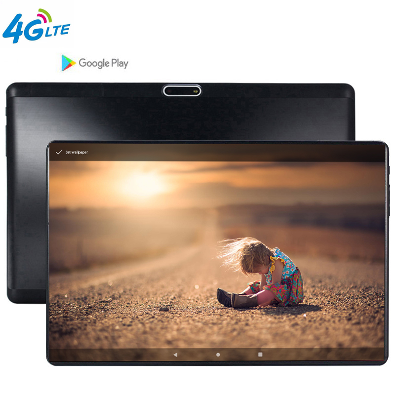 2020 NEW 4G LTE MTK6739 Tempered 2.5D Screen 10.1 Inch Tablet PC Android 9.0 OS Quad Core 3GB RAM 32GB ROM Wifi GPS The Tablet
