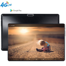 2020 Baru 4G LTE MTK6739 Tempered 2.5D Layar 10.1 Inci Tablet PC Android 9.0 OS Quad Core 3GB ram 32GB ROM Wifi Gps Tablet(China)