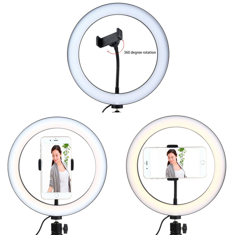 cheapest Foldable Sea Shell Design Portable Mini Makeup Mirror Beauty Selfie Light Selfie Clip Flash Fill Light Power Bank for samrtphone