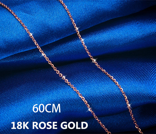 18K Rose gold 60cm