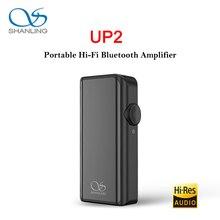 SHANLING UP2 ES9218P Hi-Res портативный hifi аудио Bluetooth усилитель USB DAC Ноулз микрофон Поддержка LDAC/aptX HD/SBC/AAC HWA