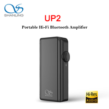 SHANLING AMPLIFICADOR DE Audio HiFi portátil UP2 ES9218P con Bluetooth, micrófono USB DAC knoples, compatible con LDAC/aptX HD/SBC/AAC HWA