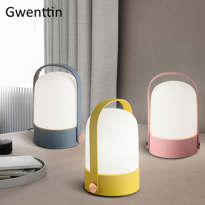 Modern Glass Table Lamps Nordic Iron Led Desk Light for Bedroom Bedside Kids Study Lamp Lighting