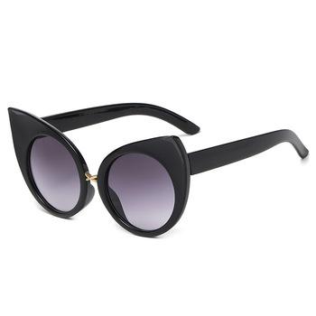 Moda 2021 nowe dzikie okulary przeciwsłoneczne Cat Eye panie osobowość moda uliczna wybieg moda Sexy okulary UV400 tanie i dobre opinie yueyaolao CN (pochodzenie) WOMEN Z poliwęglanu KOCIE OKO Dla osób dorosłych NONE 64mm 51mm