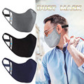 Маски унисекс однотонные хлопковые для лица, многоразовые маски для лица, для косплея на Хэллоуин, 1 упаковка