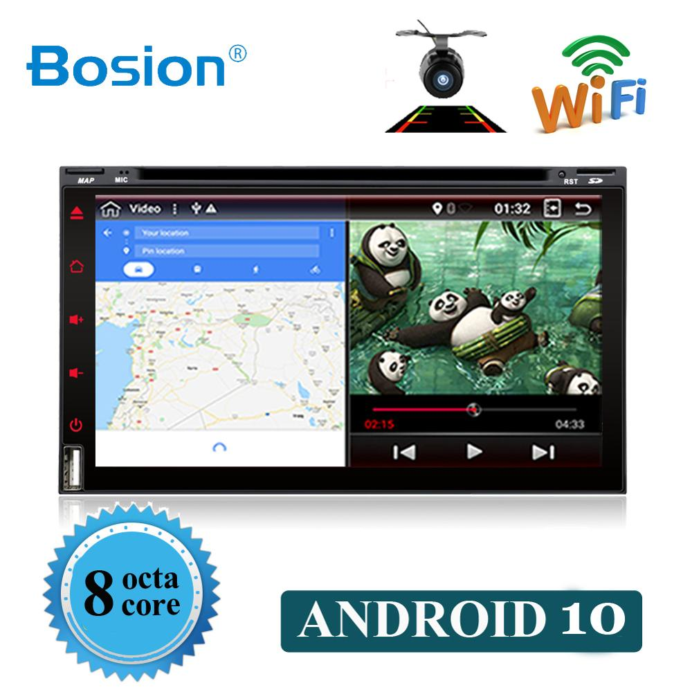 Bosion car multimedia player Octa Core 2 Din Android 10.0 For NISSAN QASHQAI Tiida Car Audio Stereo Radio GPS TV 3G WiFi BT DAB+ image