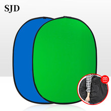Green screen photography props portable chroma key background photos, suitable for YouTube Video Studio 100×150 cm 2 in 1
