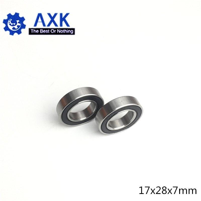 17x28x7 mm 10PCS 17287-2RS Hybrid Ceramic Si3N4 Rubber Sealed Bearing Bearings