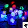 30LED Solar Pinecone Fairy String luces Navidad luz exterior impermeable para fiesta vacaciones patio árbol luz decorativa