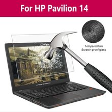 For Hp Pavilion 14 laptop Tempered Glass Screen Protector 9H