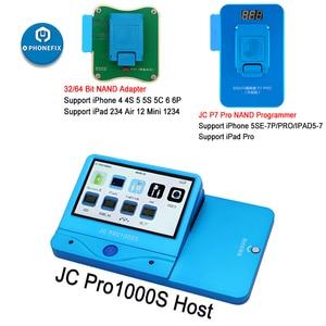 Image 2 - JC Pro1000S JC P7 Pro PCIE NAND programcı 32/64 Bit HDD okuma yazma onarım aracı iPhone 7 7 P 6 6S 6P 6SP 5 4 tüm iPad kilidini