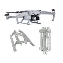 Para dji air 2s/mavic air 2 landing gear drone acessórios bandeja deslizante retrátil com protetor de pernas peças de reposição kit combinado