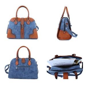 Image 4 - 2019 New Luxury Vintage Women Handbags Designer Brand Crossbody Bags Leather Women Shoulder Bag Laides Hand Bag Purse Tote