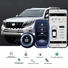 3-5M Auto Remote Start Keyless Entry Ios/Android APP PKE Start Stop Button Push Button Car