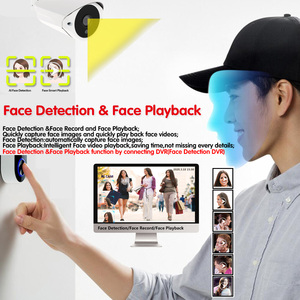 Image 2 - Ultra HD 5MP Human Detection AHD Camera SONY IMX335 H.265 Bullet Security Video Surveillance Camera 3.6mm Lens 36 Infrared Led