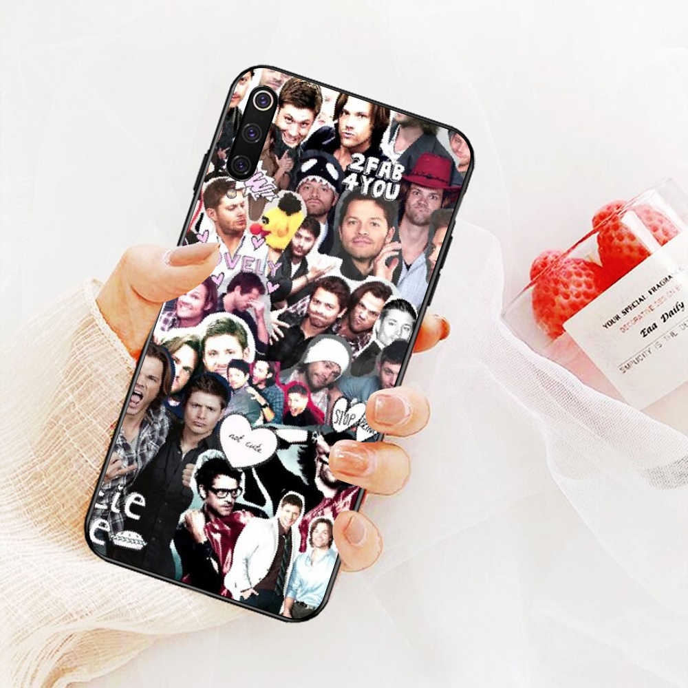 NBDRUICAI טבעי ג 'ארד Padalecki DIY יוקרה טלפון מקרה עבור Xiaomi Redmi הערה 8 8A 7 6 6A 5 5A 4 4X 4A ללכת פרו בתוספת ראש
