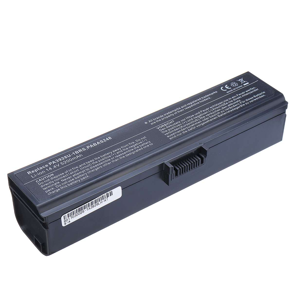 8 Cell 4400mAh 14.4V Battery Laptop Battery For Qosmio X770-107 X770-BT5G24 X775 PA3928U-1BRS PABAS248