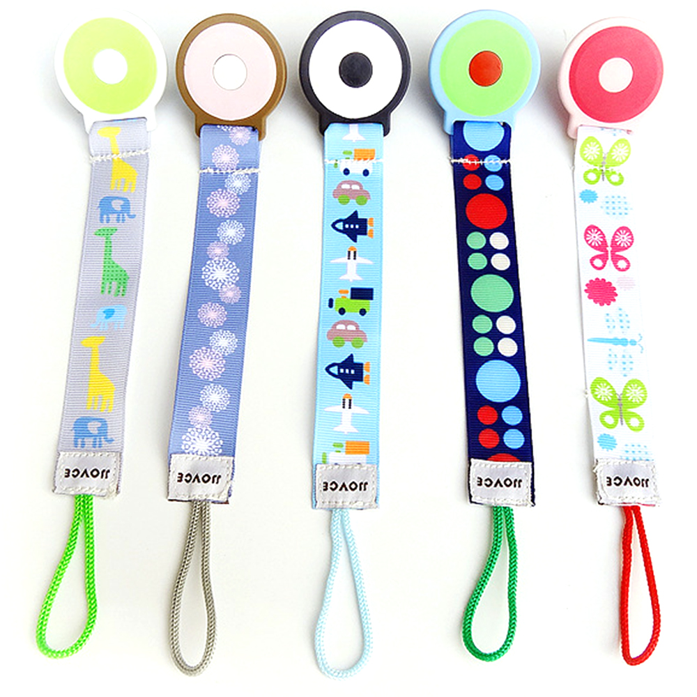 1Pcs Baby Pacifier Clip Chain Fixed Strap Toy Baby Pacifier Anti-drop /Teether Belt Breastfeeding Supplies For Newborn Kids