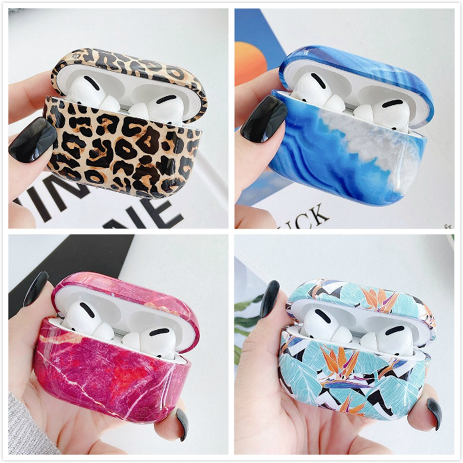 Marble Pattern Hard Case for Airpods pro