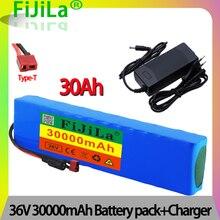Е-байка 36В 30Ah 10S3P 18650 модифицированный велосипед электрический автомобиль мотоцикл скутер батарея с 15A литиевая батарея BMS упаковке с открыт...