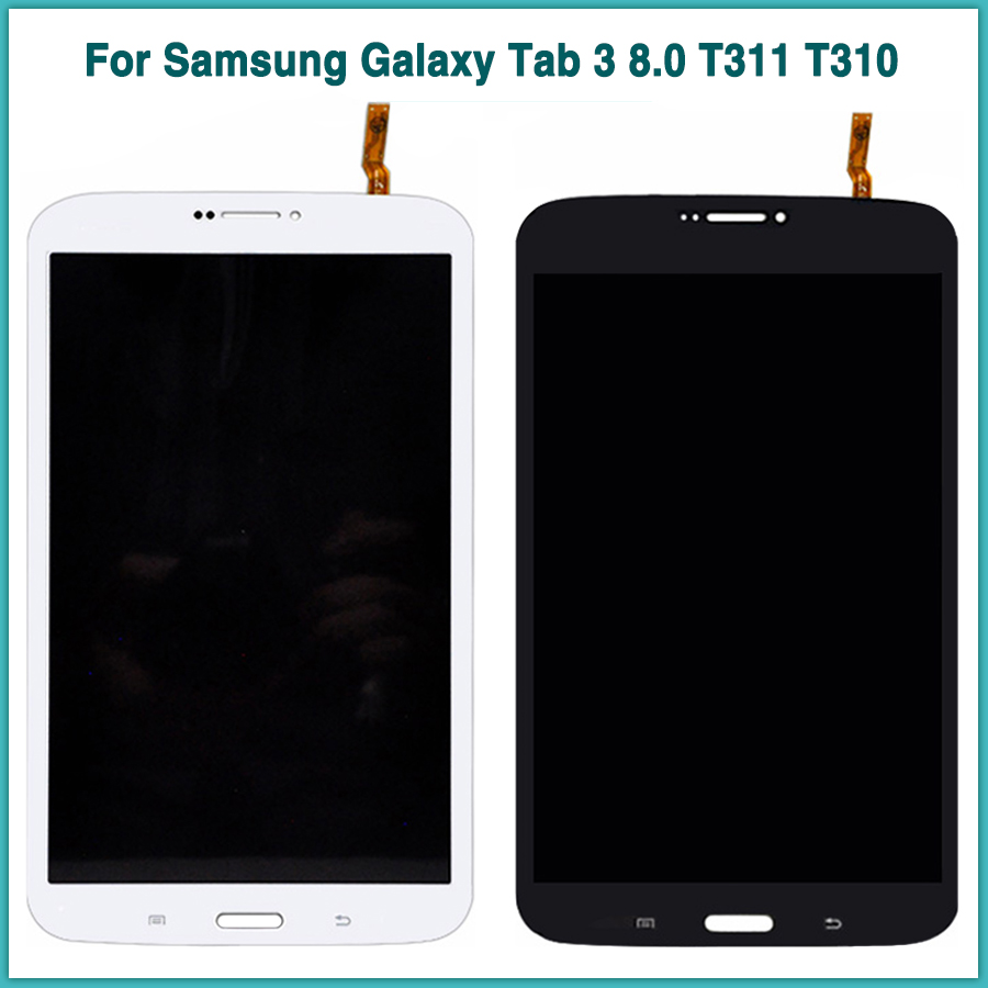 Neue <font><b>T311</b></font> <font><b>lcd</b></font> touch panel Für Samsung Galaxy Tab3 8,0 T310 SM-T310 SM-<font><b>T311</b></font> <font><b>LCD</b></font> Display Touchscreen Digitizer Montage image