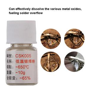 Image 4 - Löten Paste Silber Messing Löten Pulver Niedrigen Temperatur für Jewlery Verarbeitung Schweißen Professionelle Schmuck Werkzeuge Ausrüstung