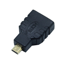 Micro HDMI to HDMI Cable Adapter Micro-HDMI Male to Standard HDMI Female Converter Extension Plug Connector