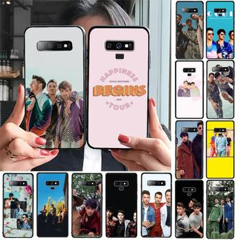 FHNBLJ Jonas Brothers Phone Case For Samsung Galaxy A30 A20 S20 A50S A30S A71 A10 A10S A7 A8 A6 plus Cases image