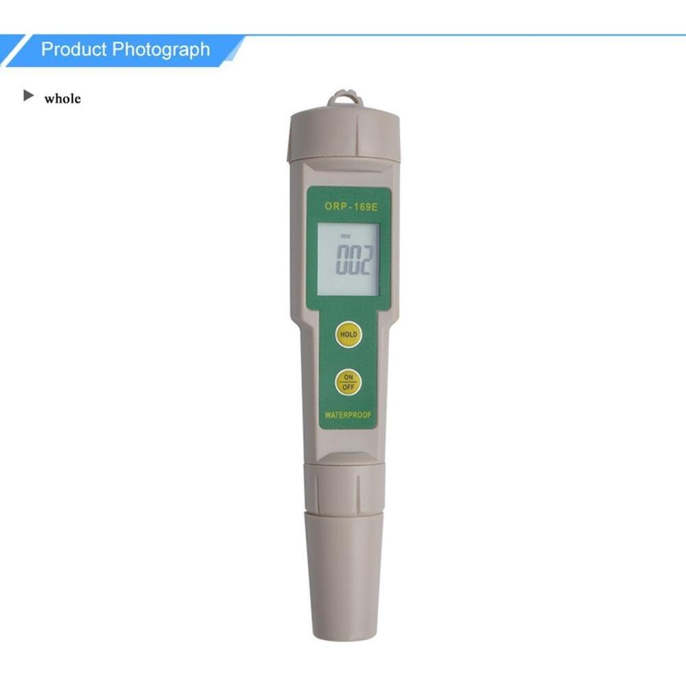 Portátil Detector Medidor de ORP Negativo de Oxidação-Redução Potencial Redox Testador Caneta Digital Monitor de Qualidade Da Água de Medição