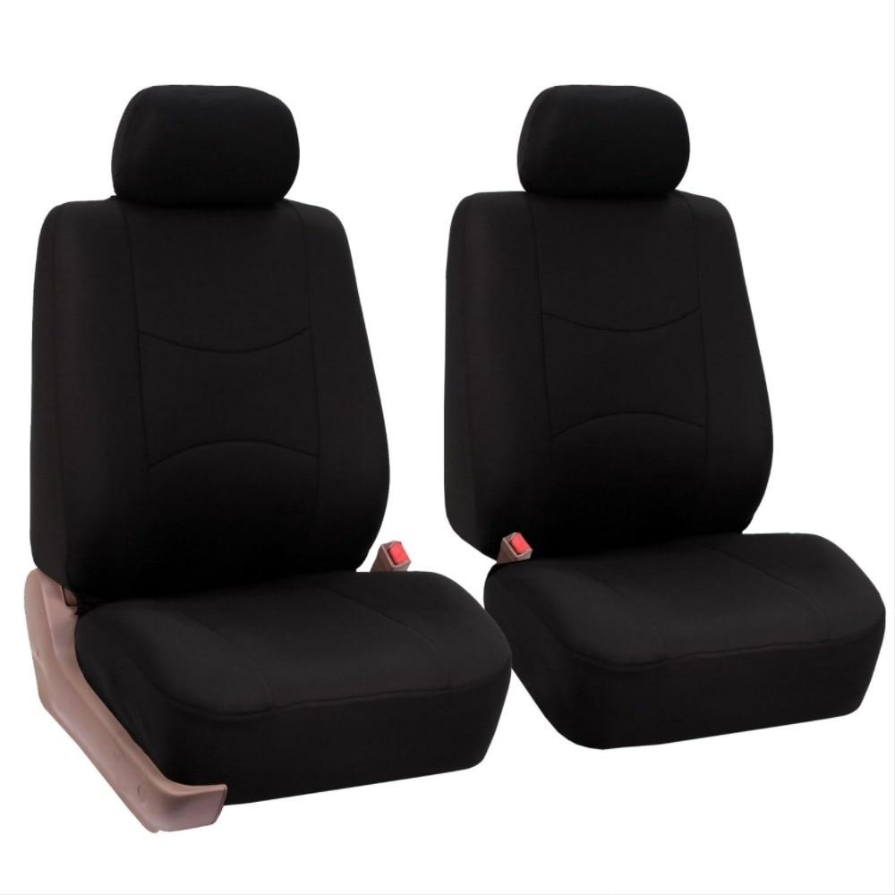 2PCS//set Universal 5MM Foam Auto Car Seat Covers Cushion Front For Sedans Blue