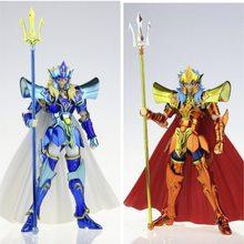Nova chegada jmodel pano mito ex mar rei poseidon 15th anniver figura de ação brinquedo armadura metal modelo