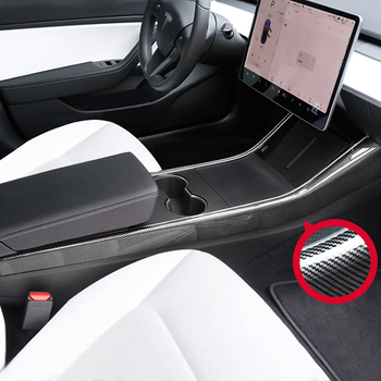 Center side trim strip for Tesla model 3 accessories/car accessories model 3 tesla three tesla model 3 carbon/accessoires