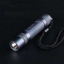 Светодиодная вспышка Convoy S2 +, медная пластина DTP, стеклянная линза с Ar-покрытием, фонасветильник с прошивкой Biscotti 7135, цвет серый