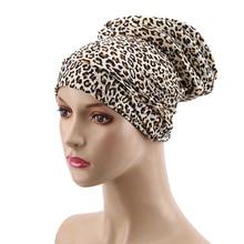 Hats Muslim Women Cotton Bonnet Beanie Chemotherapy-Cap Spring-Headscarf-Cap Hair-Loss-Gift