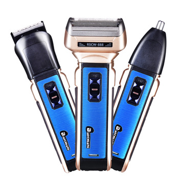 Multifunction Facial Electric Shaver for Men Wet Dry Shaving Machine Body Shaver Rechargeable Electric Razor Beard Shave Groom