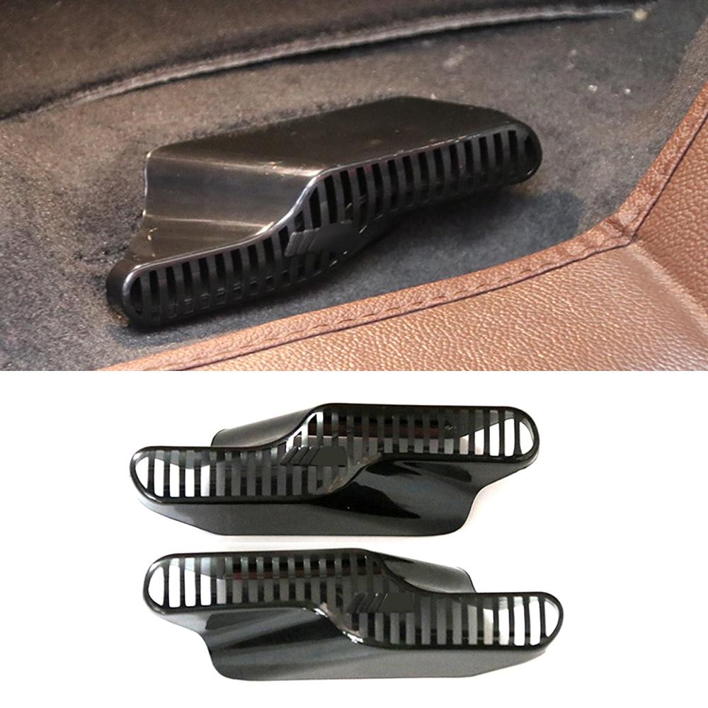Для BMW F20 F21 1 серии X1 F48 X2 F39 F46 автокресло AC Нагреватель воздуховод кондиционера решетка вентиляционное отверстие крышка защитные наклейки