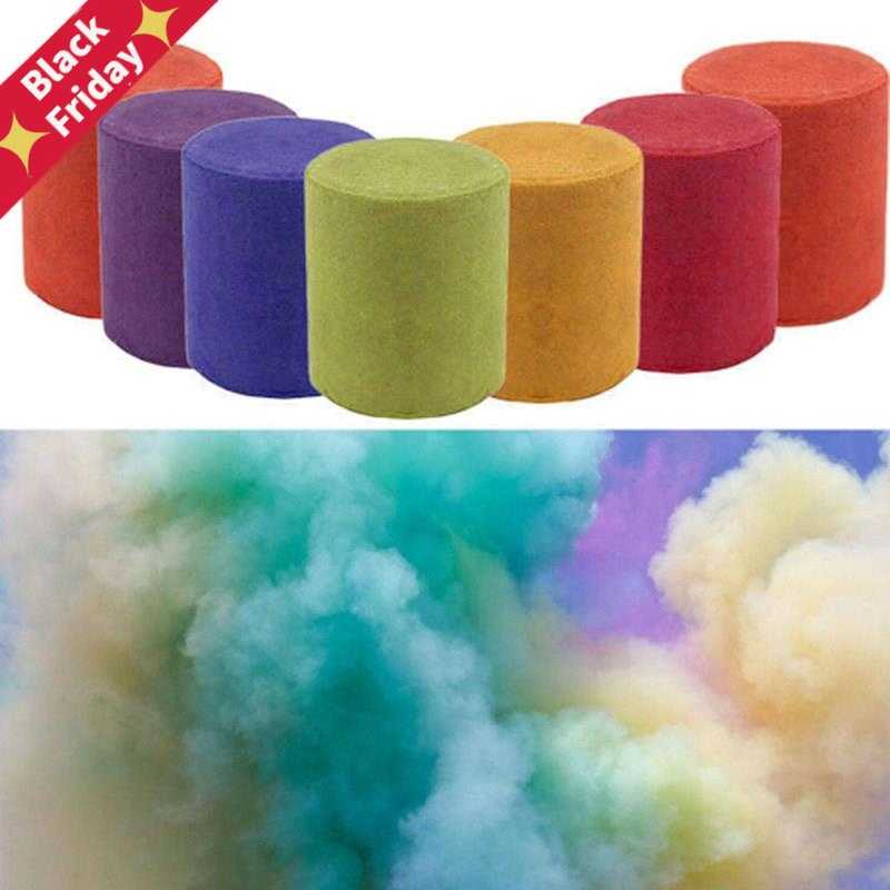 Color Magic Smoke Props Tricks Pyrotechnics Background Scene Studio Photography Prop Smoke Cake Fog Magic Trick Magician Fun Toy