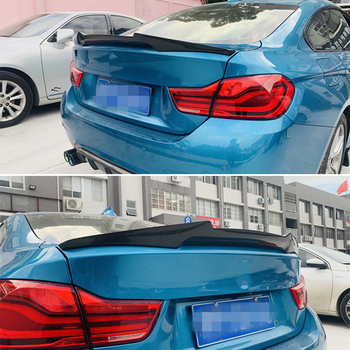 Use for BMW 4 Series F36 spoiler 2014--2019 year 4-door gran coupe carbon fiber rear wing M4 style Accessories body kit image