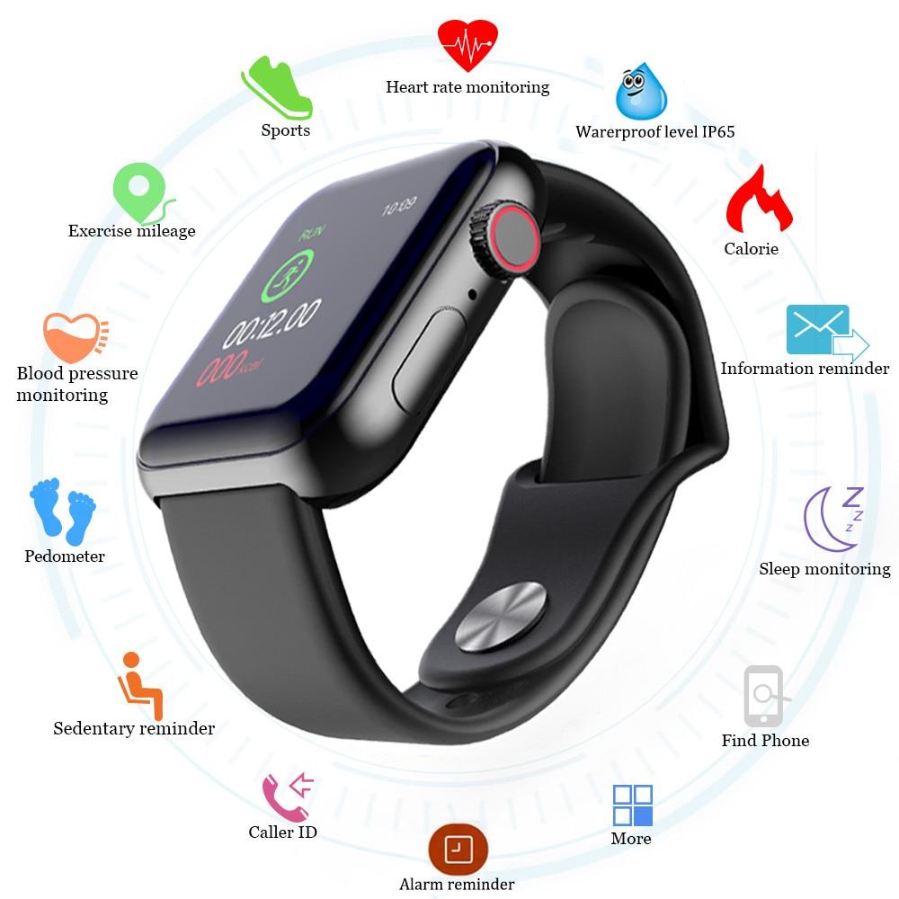 TEZER D28 Smart Watches Men Waterproof Sports Fitness Bracelet Tracker Heart Rate Monitor Blood Pressure Bluetooth Smart Band
