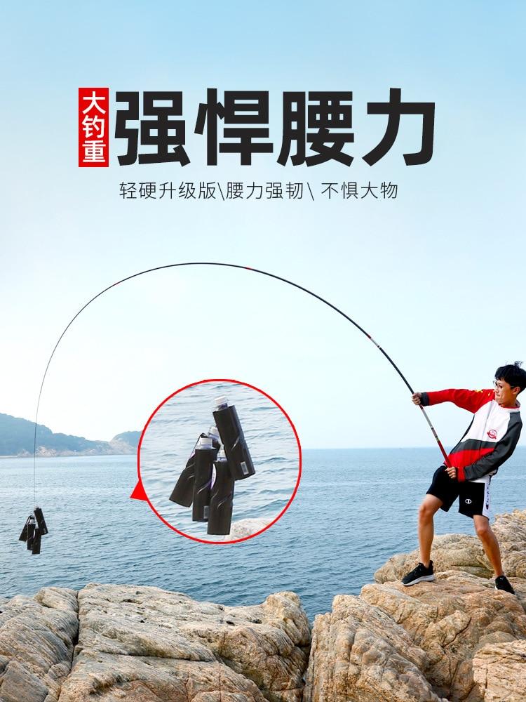 Taiwan Hengel 46 T 60 T High Carbon Super Hard Ultra Licht 19 Tone 3.6 8.1 Meter super Hengel Kant Hengel Voor Grote Vissen - 4