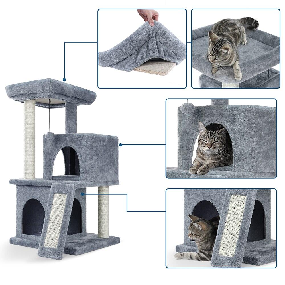 Maison arbre à chat